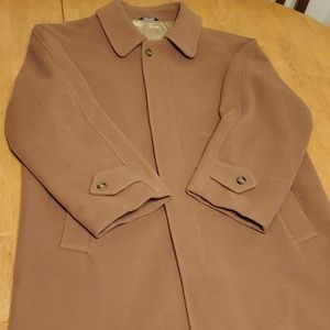 Vintage burberrys of london wool coat